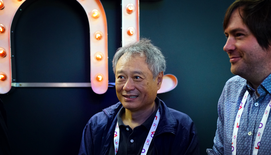 Ang Lee visits FilmLight at IBC 2016