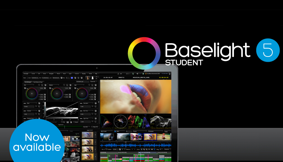 Baselight STUDENT v5 now available