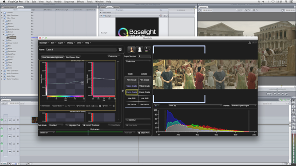 Baselight for FCP
