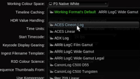 Baselight 4.4: Generalised Colour Spaces & ACES