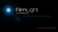 Installing and Licencing Prelight