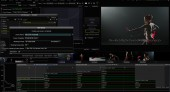 Baselight 4.4m1 UI showing subtitles
