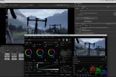Baselight for NUKE UI
